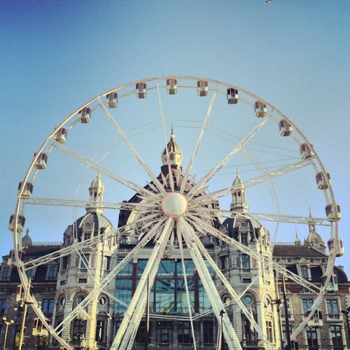 big wheel. #antwerp #antwerpen