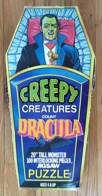 Creepy Creatures Count Dracula Puzzle (1975)