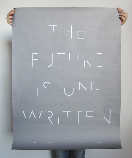 ryandonato:  The Future is Unwritten