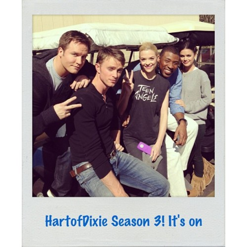 #hartofdixie is renewed for season 3! Get ready y'all!