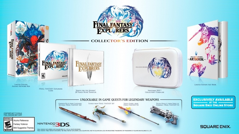 Preorder the Final Fantasy Explorers LE Its only available at the Square Enix Online Store, which is why this isnt an Amazon. To uncover additional related information concerning the most up to date jailbreaking technologies about Nintendo Console,  <a rel='nofollow' target='_blank' href=