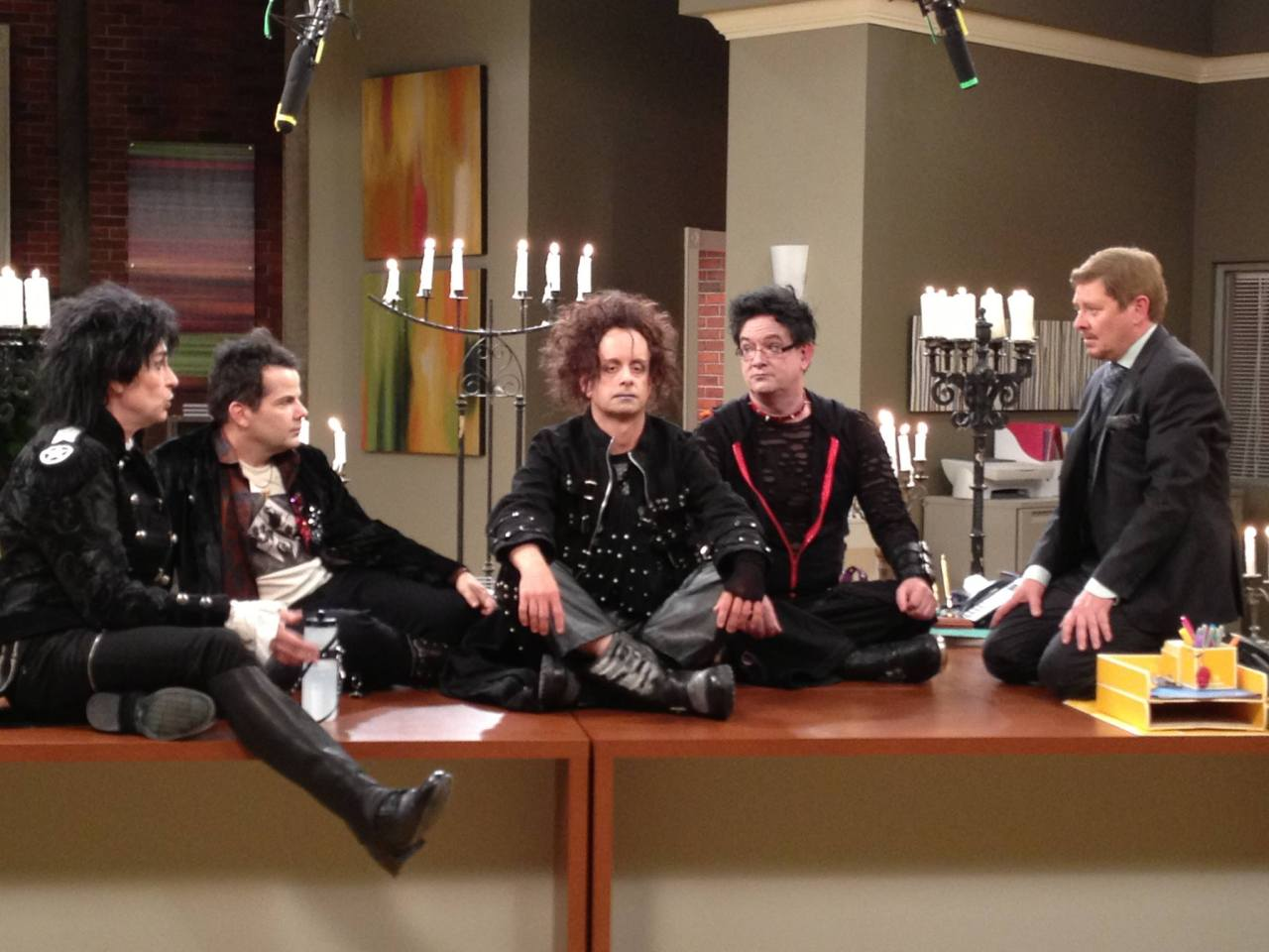 Kids in the Hall at Spun Out Set to air in 2014.