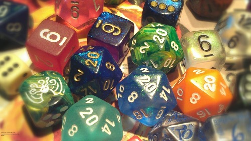 nerdsport:  Just a few of my dice. Also I watermarked these in the corner AND center. Too many people stealing other peoples shit.  Hello d&d ;)