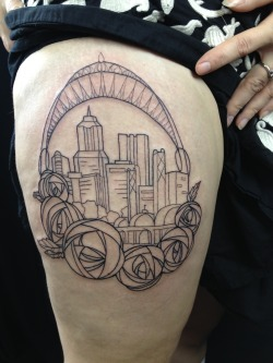 Start of a Portland piece by Lisa Maurine! We LOVE Portland. It's the best.