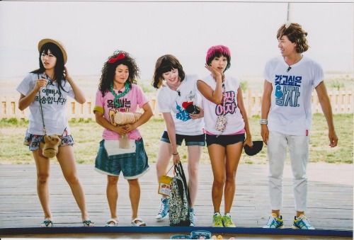 goodmerong:  Invincible Youth 2 Ep.25 Miss A Suzy, SISTAR BoRa, Kim Shin Young, Boom, Shelbi 청춘불패2 대부도 12.08.01 수지, 보라, 김신영, 붐, 셸비
