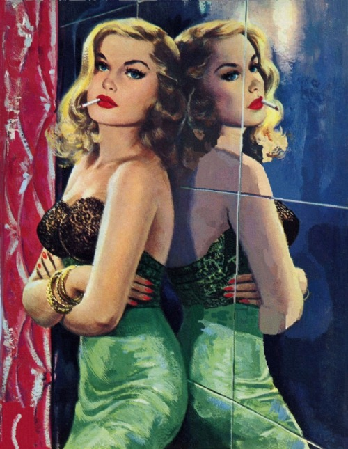 vintagecoolillustrated:  Big Time Girl