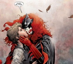 DC's Batwoman Does Gay Thing To Appeal To Gays, Gays Celebrate! *SPOILERS* This week's Batwoman #17 ends with Batwoman (Kate Kane) revealing her secret identity to her girlfriend, Maggie Sawyer, and proposing marriage, and this is, apparently, still news… Read More