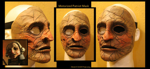 Incredible Bioshock Infinite Motorized Patriot Mask by Captainhask on deviantART is incredible.