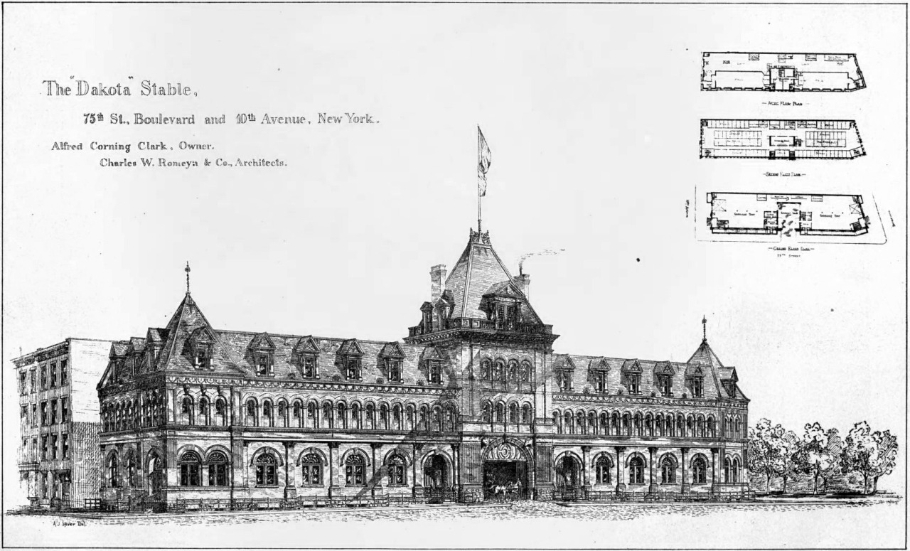 The Dakota Stable on 10th Avenue, New York City