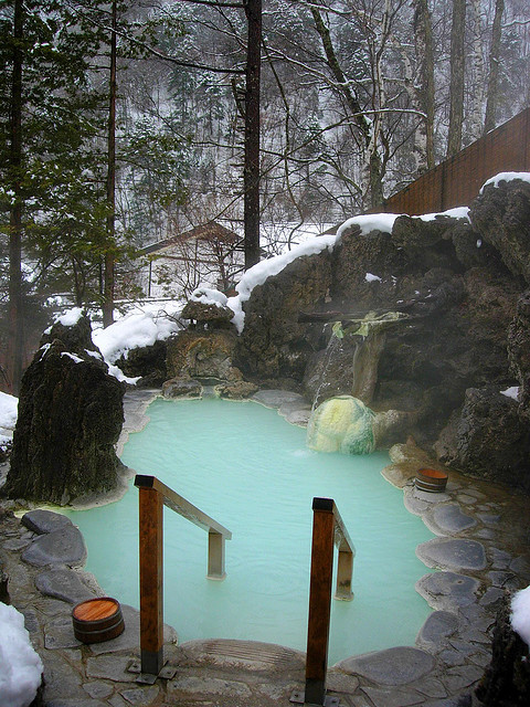 Hot Springs, Shirahone, Onsen Japan photo via iggy
