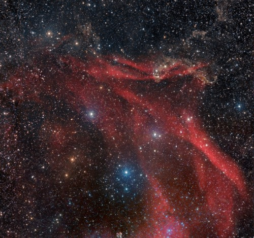 "Sh2-126 Region      Sharpless 126 & LBN 438 Mosaic: This image started out as 2 panel mosaic of the LBN 438 area, and incorporating NGC 7331 and the ""tiny"" Stephan's Quintet (at the upper right)."