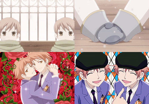 christinefuckingchapel:  ouran caps by episode• episode 5: the twins fight [x]