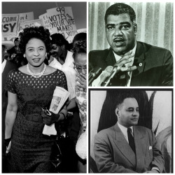 pbstv:  Can you name these civil rights pioneers? See if you can name all three. Visit PBS Black Culture Connection to learn more about them … and many more!