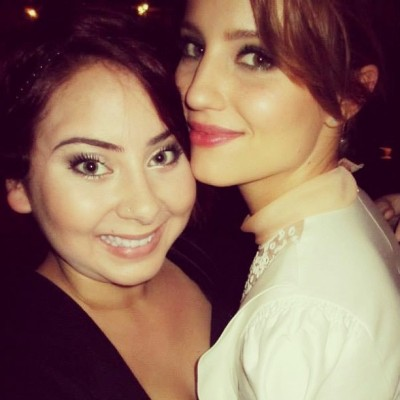 jennception:  tiffanig213 Me and the lovely @diannaagron ❤ so nice seeing her again! (x)