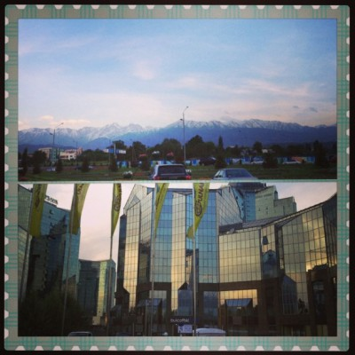 Almaty today - Mountains and Almaty Pop-up Store (at Bulcoffski Сafe)