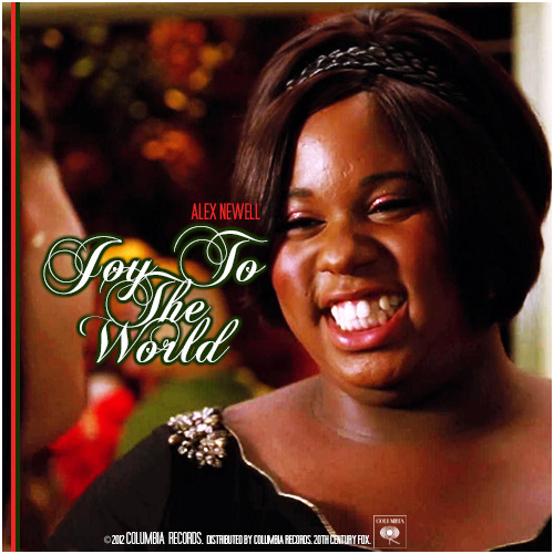 Glee: The Christmas Album Vol 3 | Joy To the World Alternative Cover