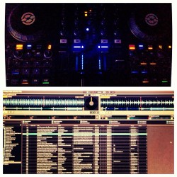 Cookin up the mix… #nightgrind #teamnosleep #dj #producer #milanamay #traktors4 #traktor #mix #djmix #ni #nativeinstruments  (at Milana May Studio)