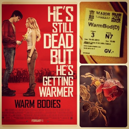 I'm really love this movie. #warmbodies <3 #Nicholas #Hoult :)