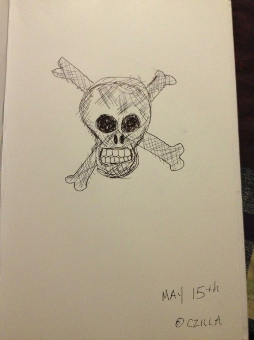 Day 5 of 365 sketch challenge  May 15th 2013