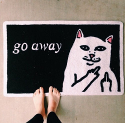kitty cat hipster vintage boho indie Grunge dark urban retro pastel Alternative go away pale
