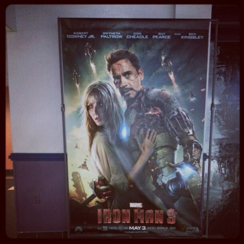 genxorcist:  New poster for Iron Man 3. Should Tony really be clutching Pepper to his damaged armor like that? Surely the jagged shards of torn metal and the dangerous electrical sparks will result in severe cuts and burns. Let her go, man!