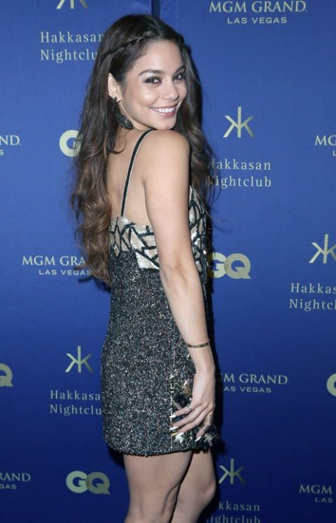 Vanessa Hudgens at MGM Grand and GQ Magazine Present All-Star Red Carpet Affair in Las Vegas