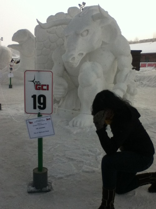 Tebowing in Anchorage, Alaska