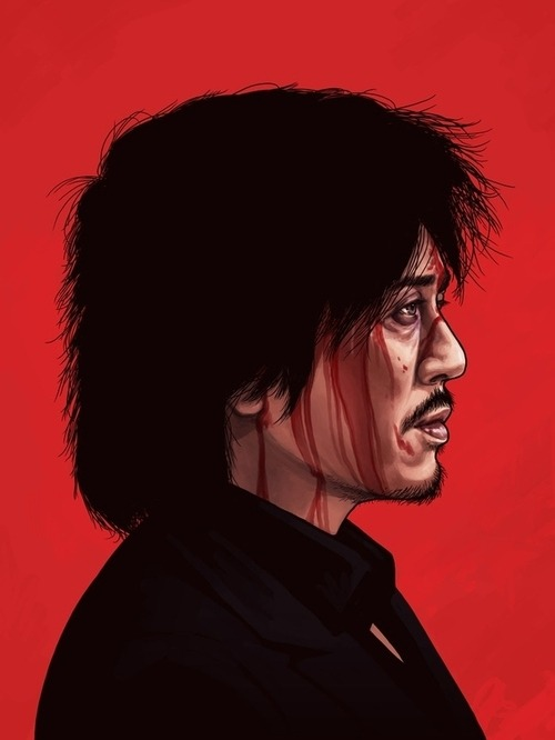 Mike Mitchell's Oldboy portrait.