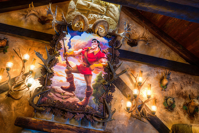 Magic Kingdom: Gaston's Tavern by Hamilton! on Flickr.