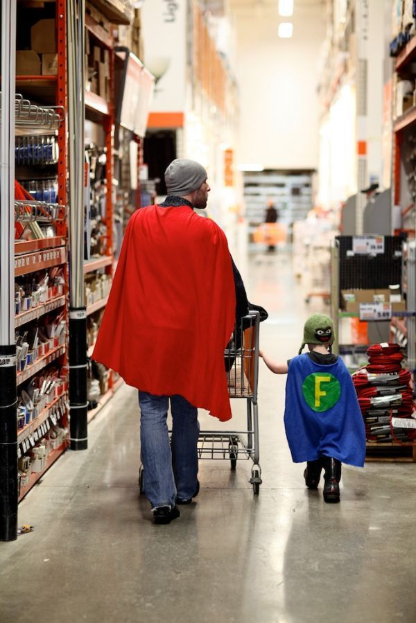 I vow to be this father.