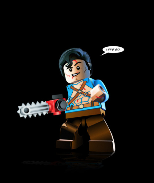 itlego:  LEGO Ash from Evil Dead Created by Paul Williams