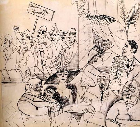 german-expressionists:  Otto Dix, We Want Bread!, 1923   ….calzante