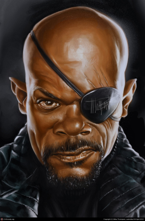 Nick Fury http://bit.ly/XXARmv
