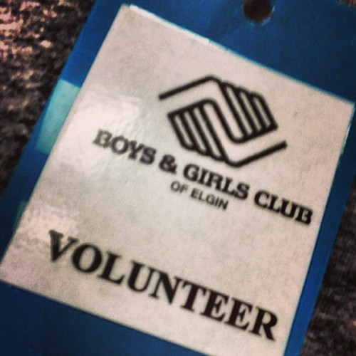 #giveback (at Boys and Girls Club Of Elgin)
