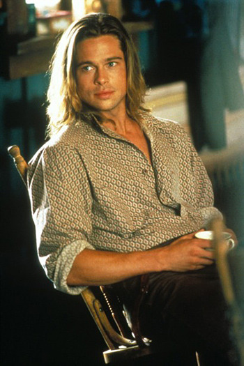 (via Screen Shots: Brad Pitt Legends of the Fall (1994) ? Film.com) Close to 2 decades ago.