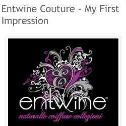 New post on www.naturallycurlykinky.com! Check out my First Impression of @EntwineCouture Products! #naturalhair #teamnatural #entwinecouture #naturalhairblogger