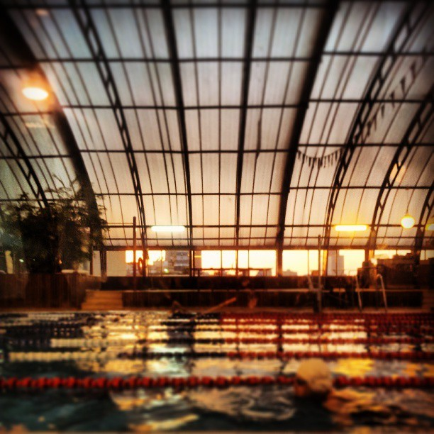 Blup #telaviv #Israel #sunset #pool #swimmimg  (at Gymi (ג׳ימי))