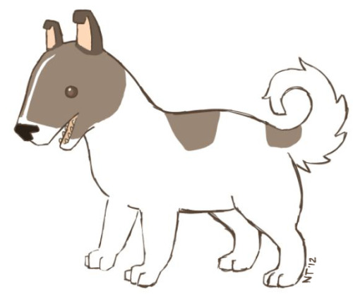 A little pup I drew for an upcoming project.