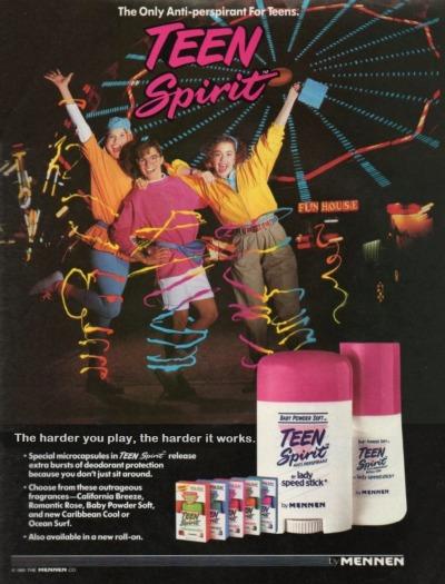 #1992, #teen_spirit, #mennen, #deodorant, #vintage_ads
