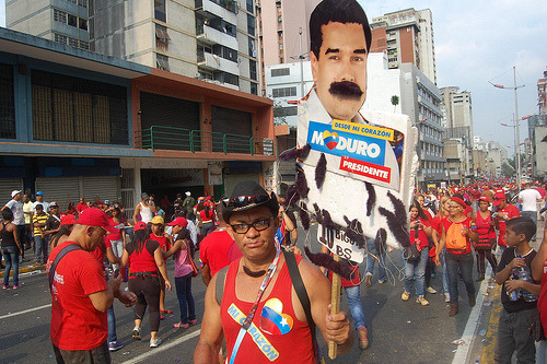 Israel Centeno: Illiberal Democracy  Maduro is a man who has been molded in Chávez and Castro's shadow and who has no limits. In particular, until now, he has not been considered a romantic figure, nor has he tried to shift paradigms; he is merely continuing a legacy and consolidating a model, borne along by serious issues that are to be interwoven with the geopolitical dynamic of Cuba, a country upon which we entirely depend. There will be more economic crises, more scarcities and shortages, more inefficiency. But these revolutions with real socialism at their core, what else have they brought us? Repression, intolerance, inefficiency, scarcity.  Continue reading this column at Sampsonia Way Magazine.
