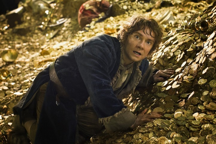 Martin Freeman en The Hobbit: The Desolation of Smaug.  The Hobbit: Part 2