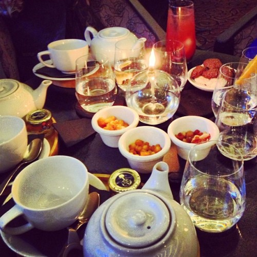 Last night's midnight tea party @SofitelMelbourn (at Sofitel Melbourne on Collins)