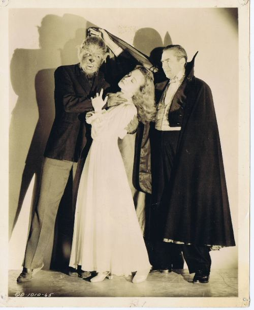 roncmerchant:  Matt Willis,Nina Foch and Lugosi-RETURN OF THE VAMPIRE (1944)