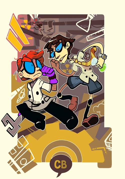 cometbunny:  DEXTERS LAB@ FULL COLOR COMMISSION * May be going to the doctor soon. I haven't been feeling so well lately. There has been more and more pain within my side.  Seriously, again, I absolutely LOVE this. I'm so bad with keeping up on Tumblr. haha, gosh, this is so great! THANK YOU AGAIN! ♥