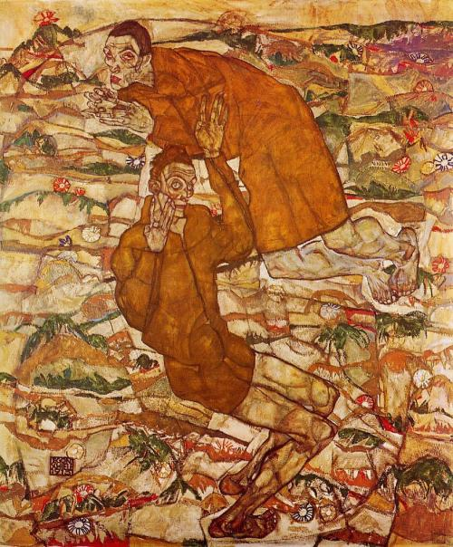 german-expressionists:  Egon Schiele, Levitation, 1915