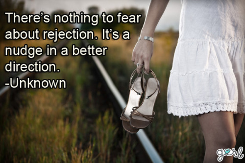 Being rejected for any reason doesn't feel good at all. We know firsthand how tough it can be, so we've put together these 10 Quotes To Help You Deal With Rejection that we hope will help you feel better! Photo source: Shutterstock.com