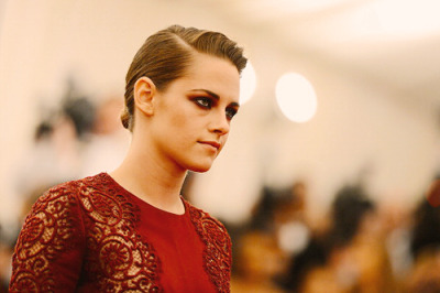 Kristen Stewart at the 2013 MET Gala.