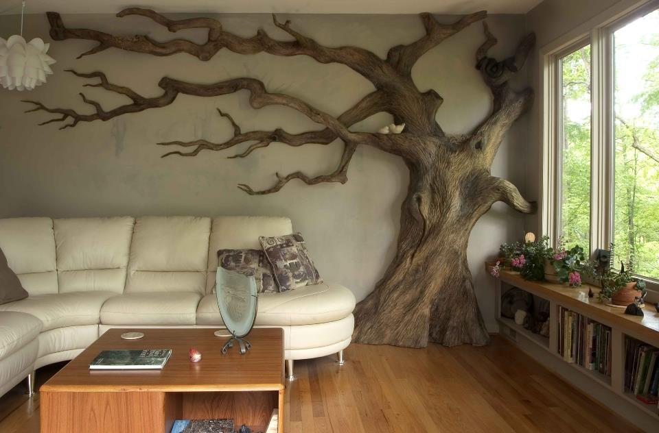 treeporn:  abistrakt: Go home tree you are trunk. chrysaliswoodworks