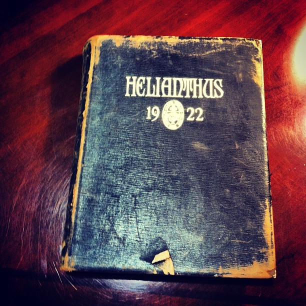 Helianthus 1922  #1922  #rmwc  #RandolphCollege   #yearbook #even