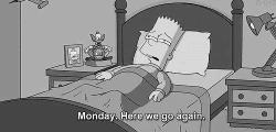 Monday here we go again…